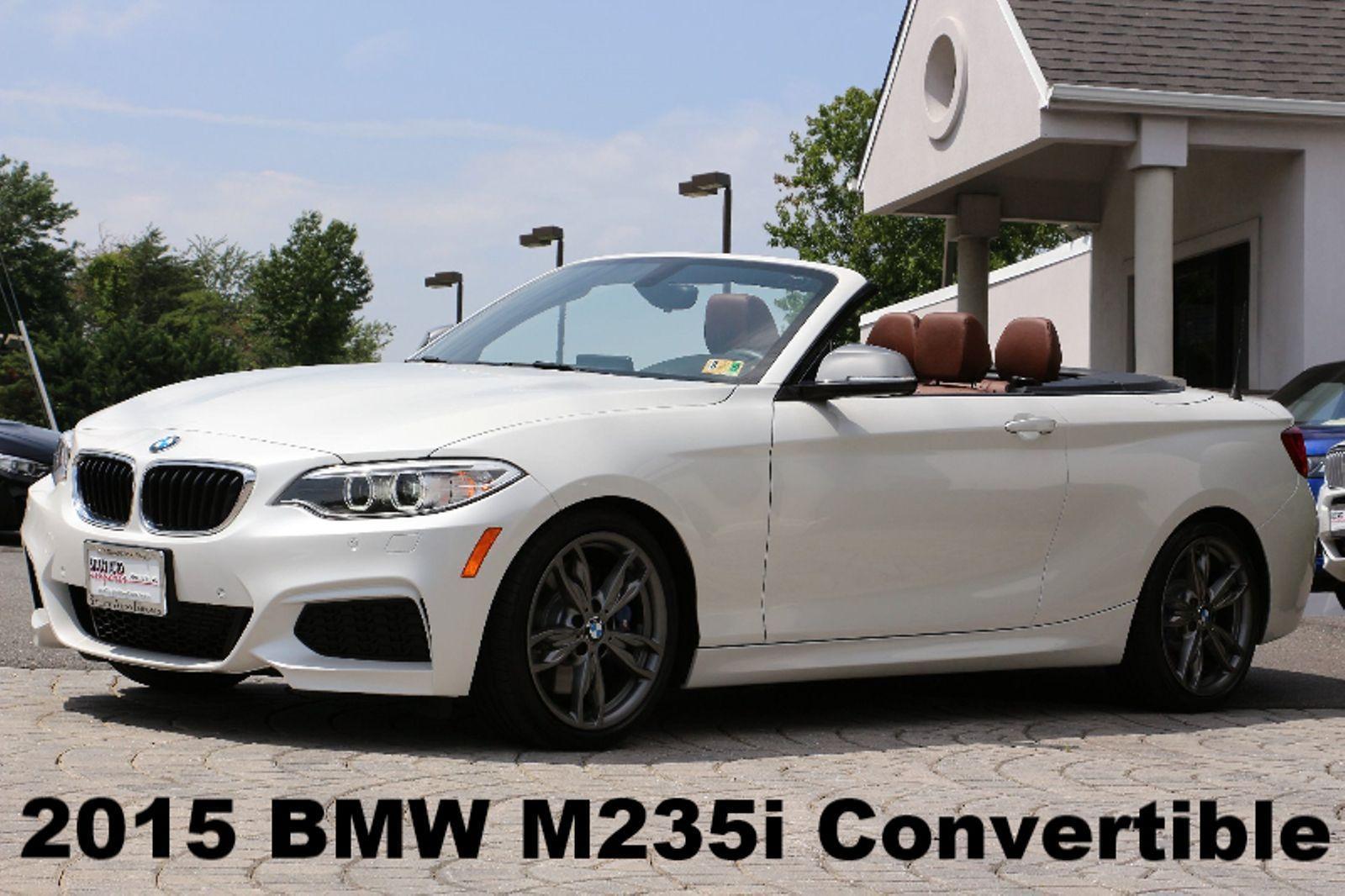 Bmw 2 Series M235i Convertible 2015 Technology Pkg Premium Pkg