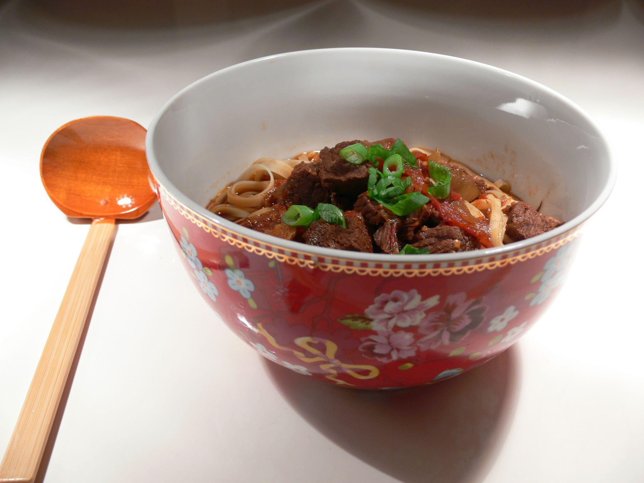 Niu Rou Mian (Spicy Taiwanese Beef Soup)