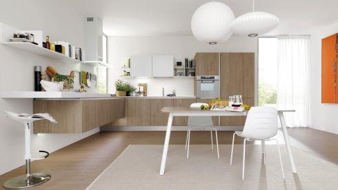 cucina in legno e bianco cerca con google