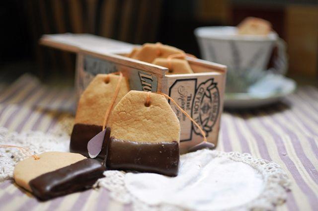 Shortbread Teabag Cookies
