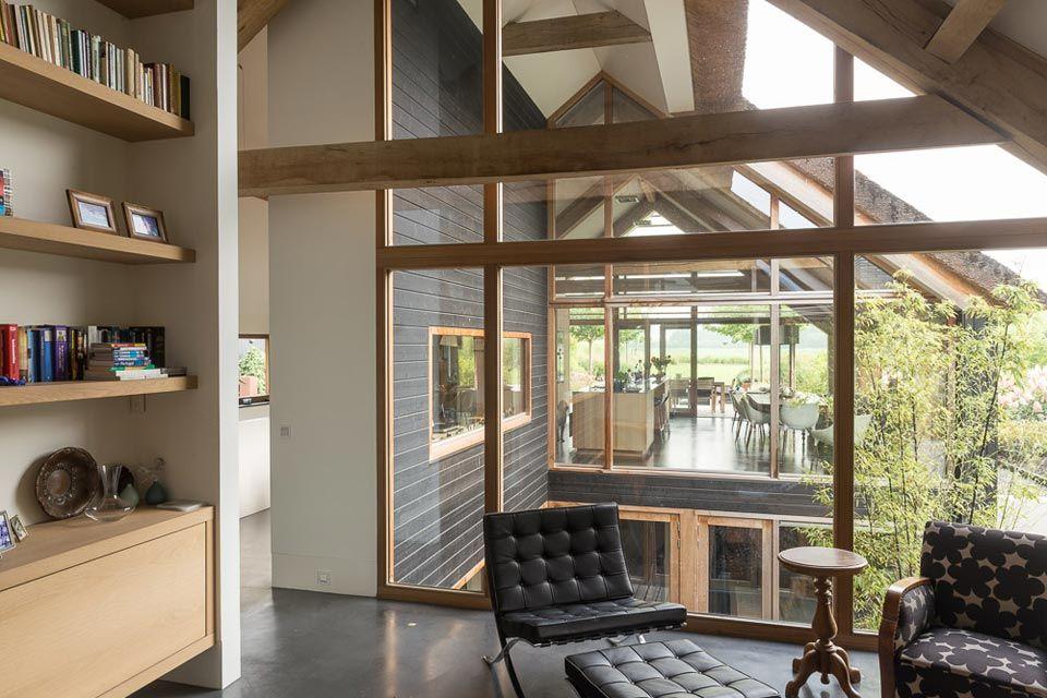 Schuurwoning Leusden I _   Modern barn, Architecture and Barn