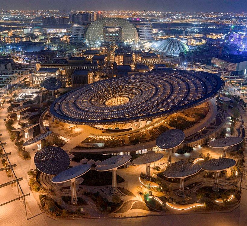 Expo 2020 Dubai Reveals Pavilions By Grimshaw Calatrava And More In 2020 Expo 2020 American Architecture Dubai