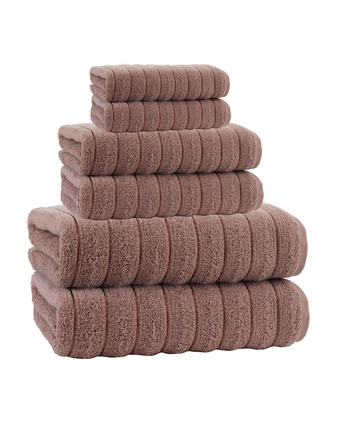 Enchante Home Vague Turkish Cotton Bath Towel Collection Reviews