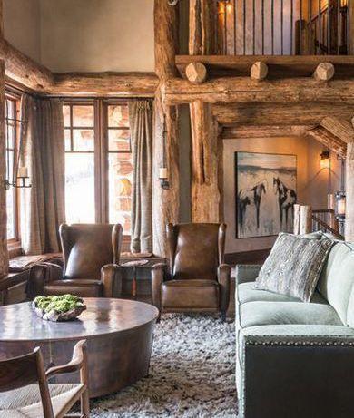 Decoraci n alpina cocinas casas naturales interiores for Casa paulina muebles y decoracion