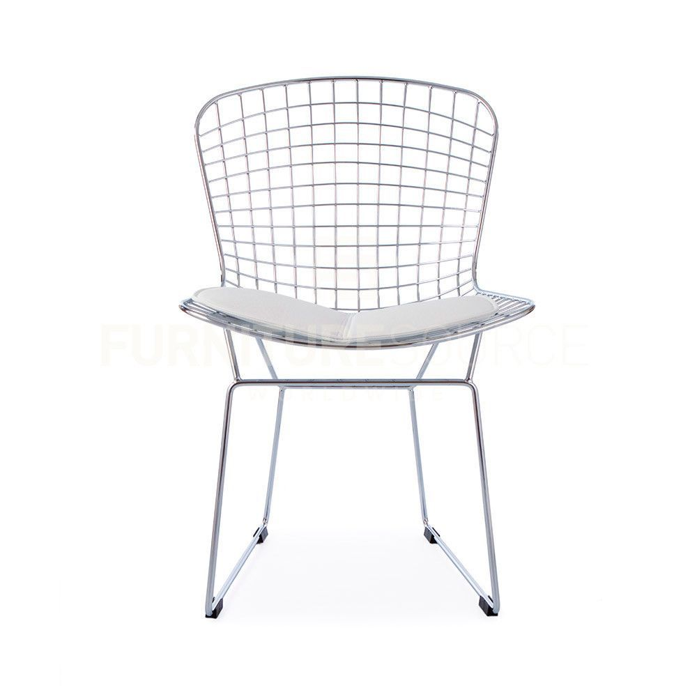 Harry Bertoia Style Wire Side Chair