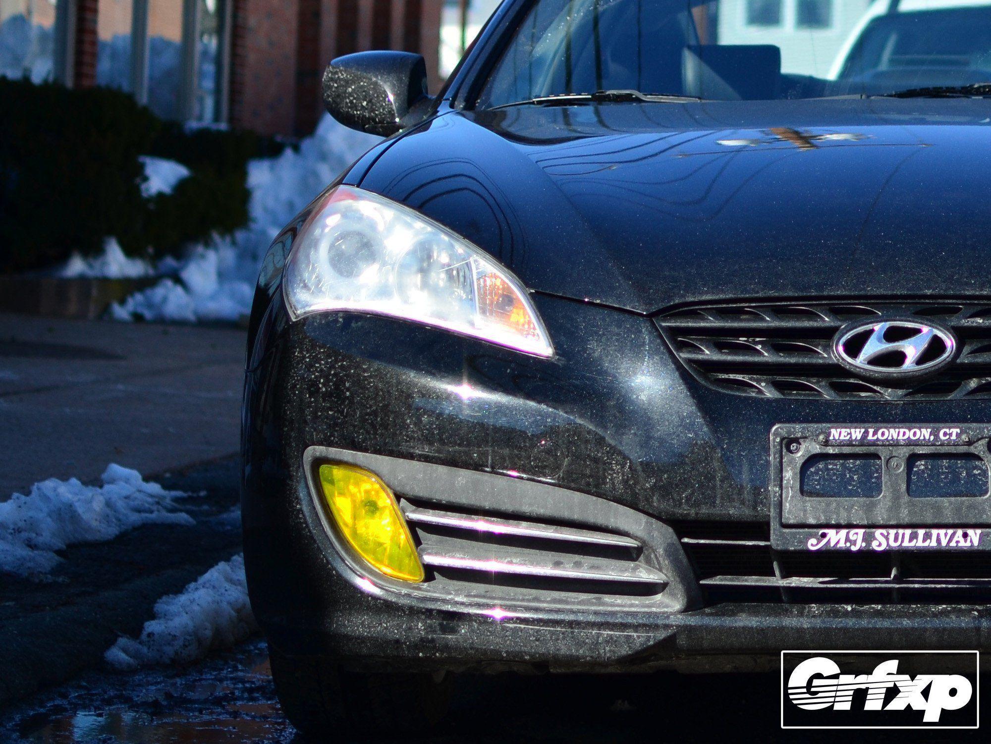 Fog Light Overlays for Hyundai Genesis Coupe (2010 - 2012) | Hyundai ...
