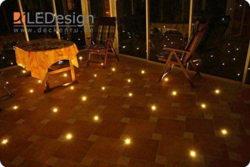 8x Fliesen LED 3mm Fuge Licht Beleuchtung inkl. Trafo Fug