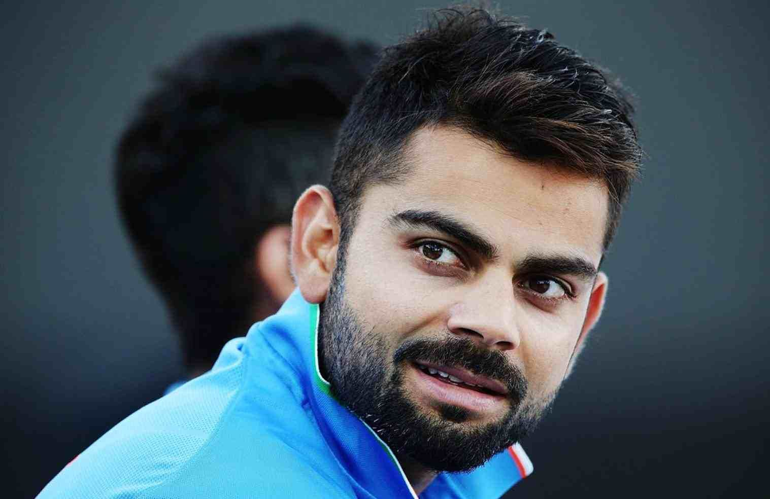virat kohli hairstyle in t20 world cup 2016