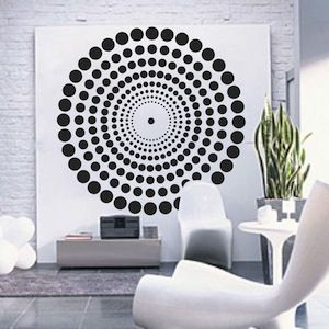 Contemporary Wall Decal Wall Stencils Vinyl Wall Bedroom Stickers Removable Wall Art Murals Trendy Wall Designs Contemporary Wall Decals Large Wall Decals Contemporary Wall