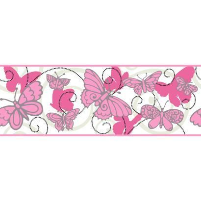 Room To Grow Butterfly Wallpaper Border BS5405B