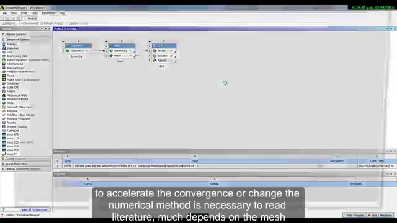 ANSYS Tutorial - Free Surface - ANSYS CFX | Computational