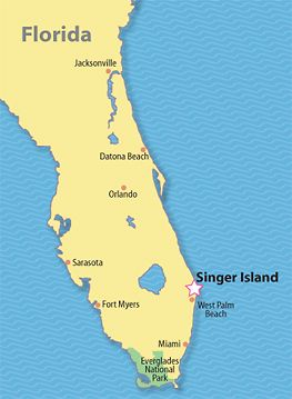 Singer Island Florida Map Singer Island Beach, Florida (With images) | West palm beach