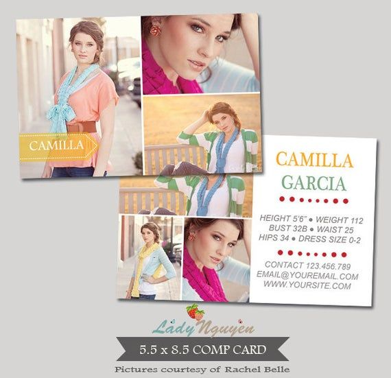 Comp Card Template Download In 2021 Model Comp Card Card Template Printable Playing Cards