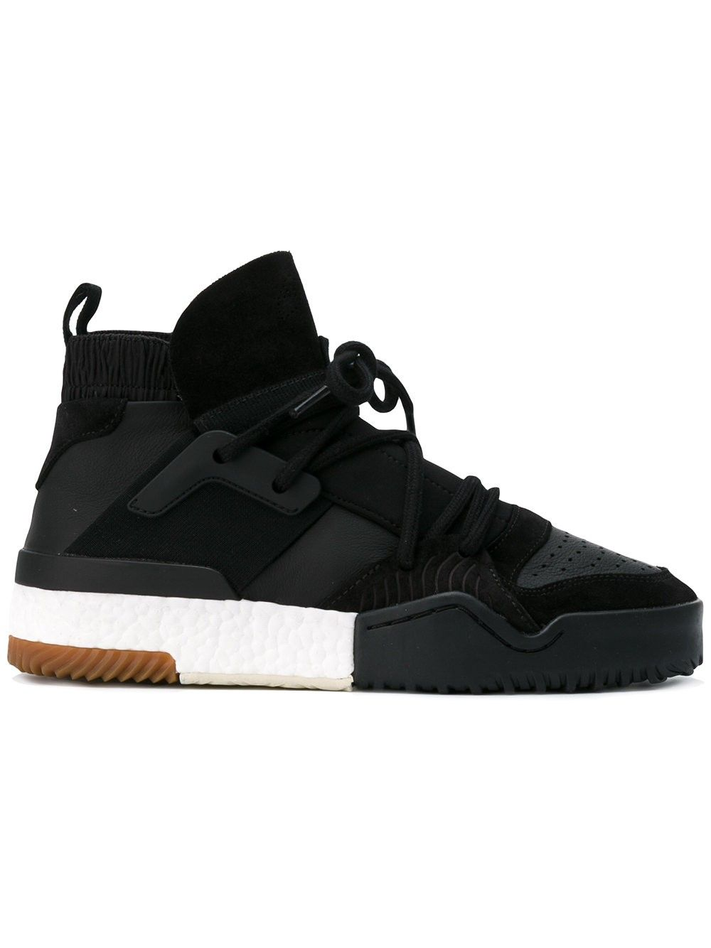 Black � ADIDAS ORIGINALS BY ALEXANDER WANG Basketball Hi-Top Sneakers.  #adidasoriginalsbyalexanderwang #shoes #