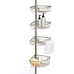 Merveilleux Regent Tension Pole Shower Caddy