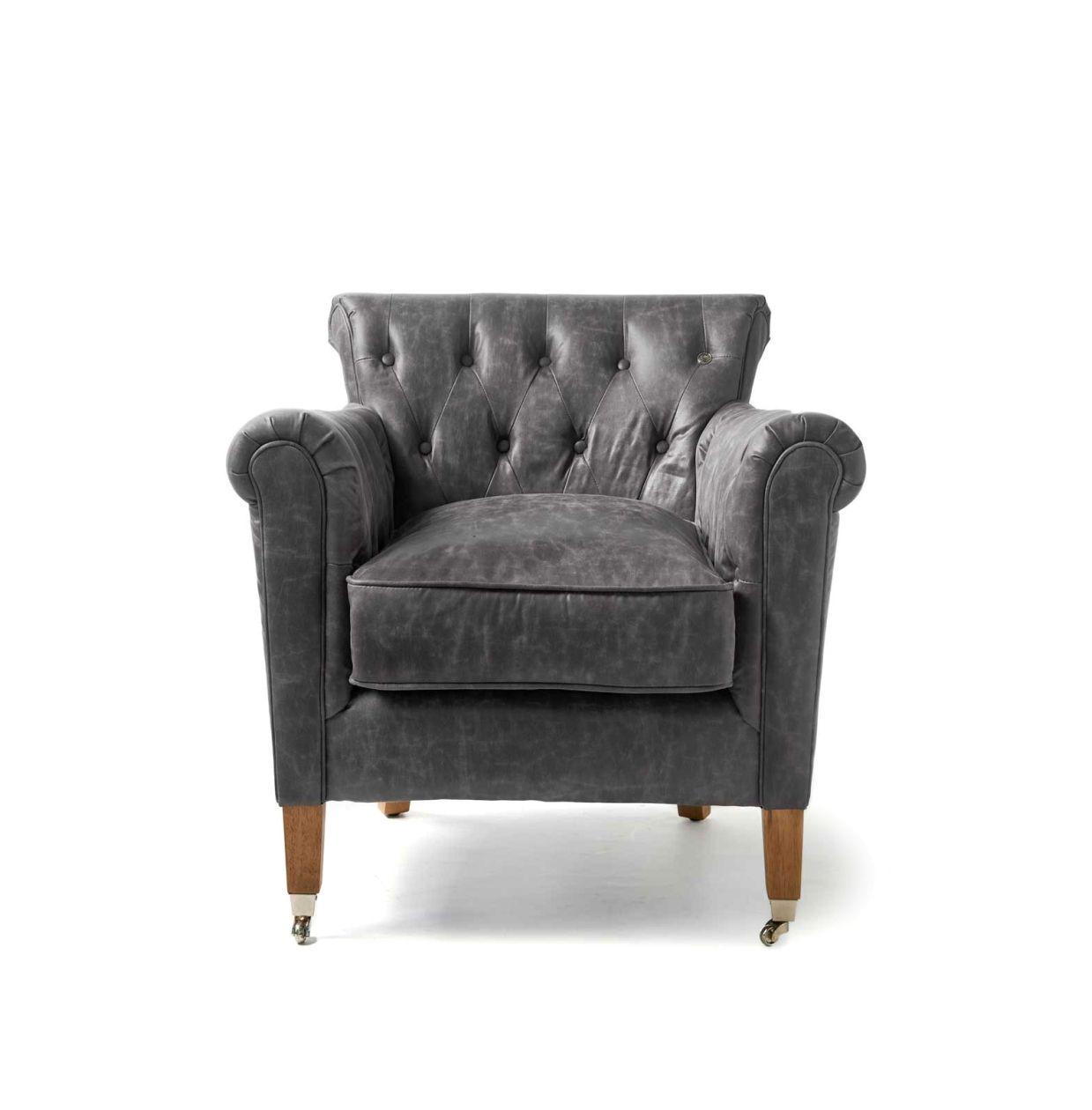 Paramount Armchair, pellini, anthracite - Woonkamer | Rivièra Maison ...