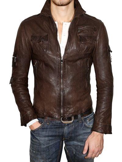Deluxe Ladies Leather Jacket Black Real Italian Nappa Leather Biker Style Design