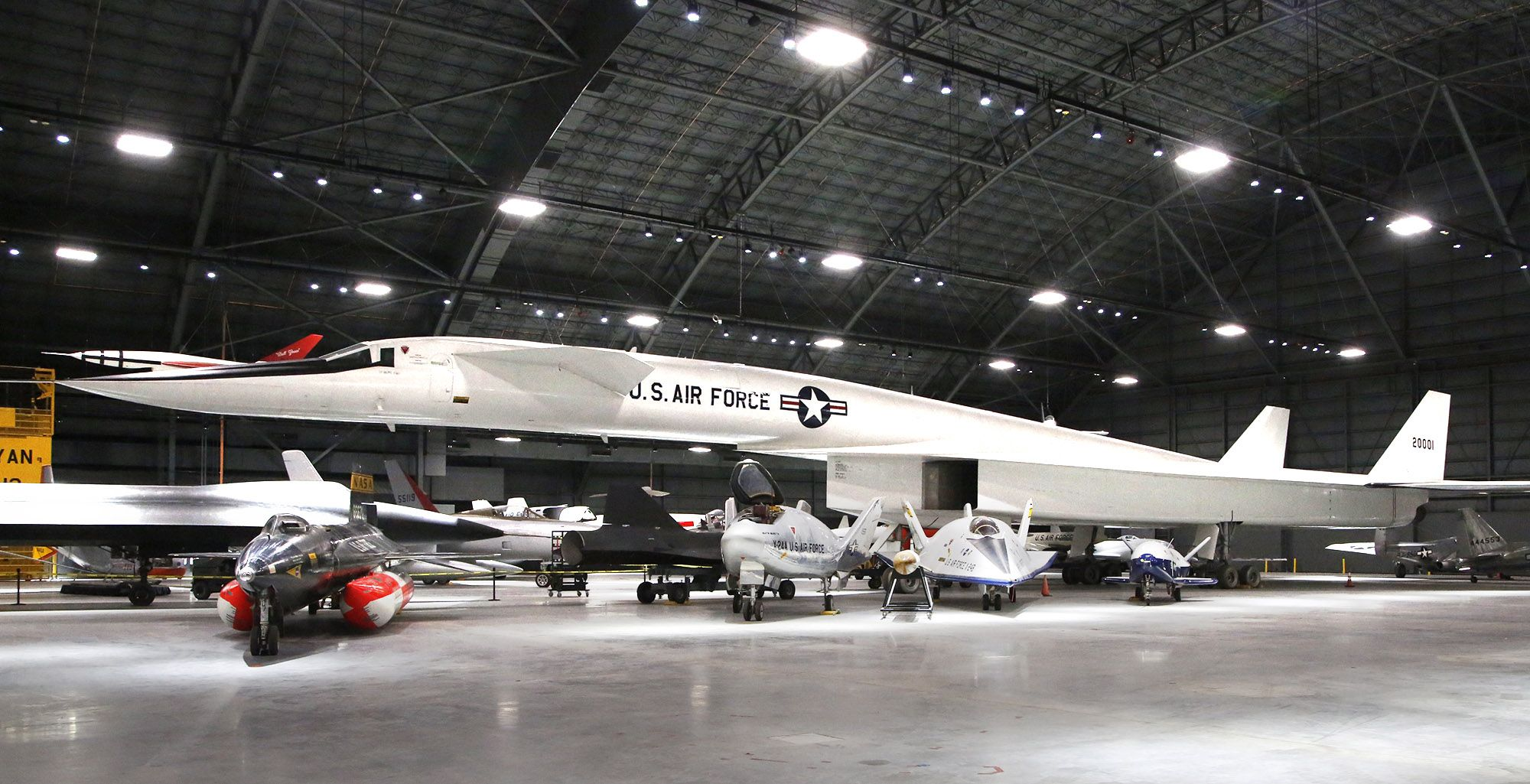 Meet the Air Force Museum's supersonic, exotic bomber