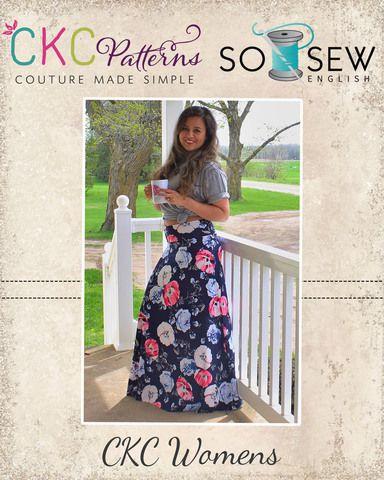 Create Kids Couture - The Coffee Break Maxi Skirt PDF Pattern, $0.00 ...
