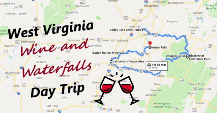 This Day Trip Will Take You To The Best Wine And Waterfalls In West Virginia #westvirginia
