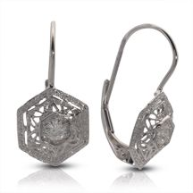d1ec0e41c Charles Winston - Vintage, Moissanite Earrings | Charles Winston ...