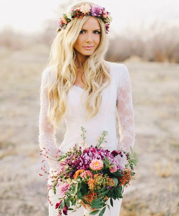 Long Sleeve Wedding Dress I Keep Finding This Girl On Searches So Beautiful Bohemian Bride In A Lace