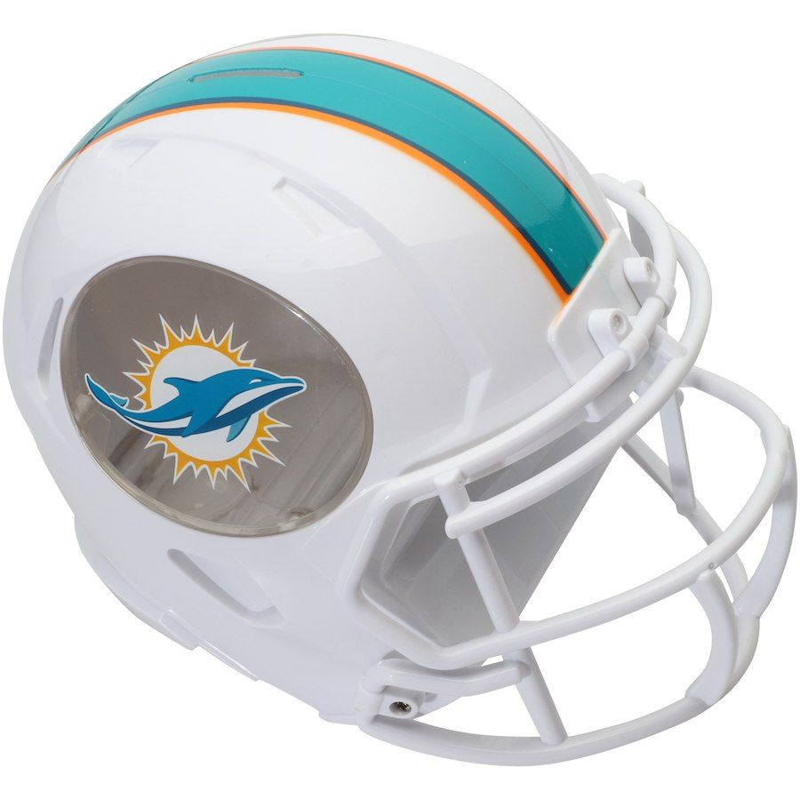 new style 10b58 a1655 Miami Dolphins Helmet Bank | Sports | Miami dolphins game ...