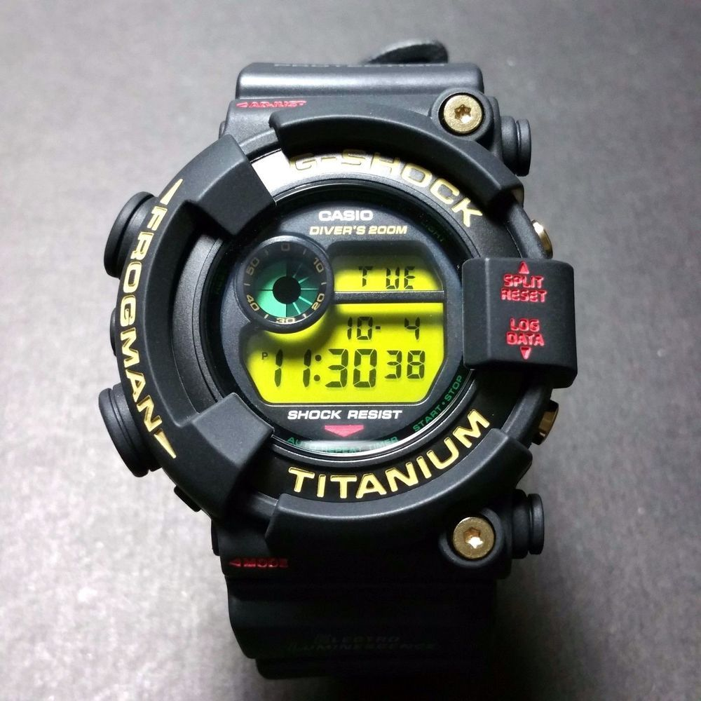 G-SHOCK FROGMAN DW-8201NT-1JR SUPER RARE 7TH ANNIVERSARY EDITION #GSHOCK  #VINTAGERAREFROGMAN