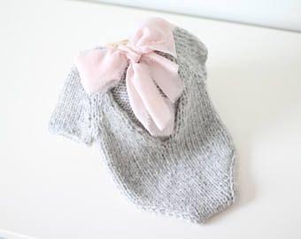 Photo of Newborn props – Newborn romper – Baby girl romper – Short sleeve romper – Photo Prop Outfit – Photo prop romper – Lavender – Newborn girl