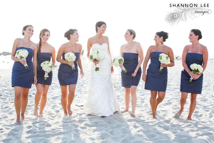 Beach Wedding Blue White And Green