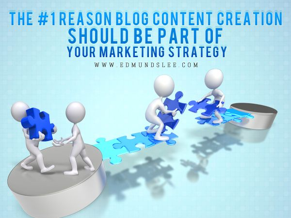 The #1 Reason Blog Content Creation Should Be Part of Your #Marketing #Strategy