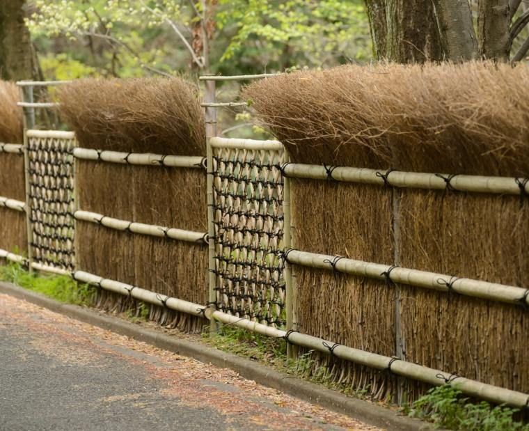 clture de jardin en bois 75 ides pour faire un bon choix - Cloture De Jardin En Bois