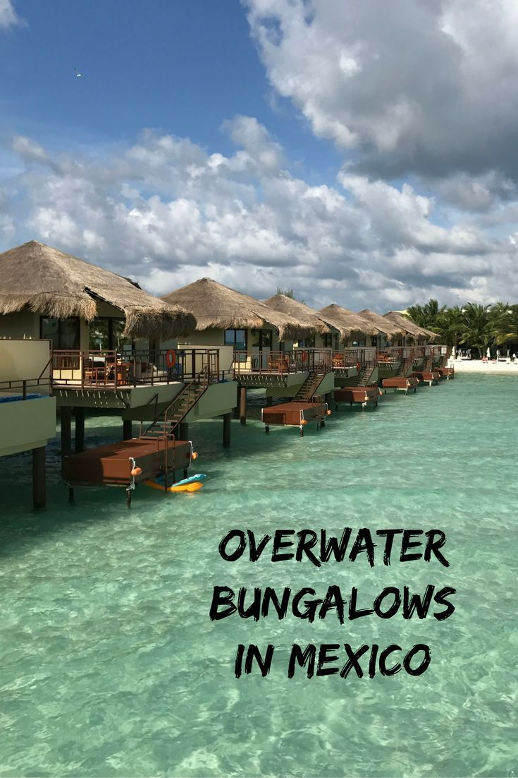 Mexicou0027s only true overwater bungalows a