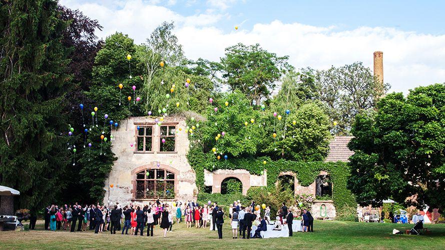 Hochzeitsfest im Grnen  Hochzeitslocation  wedding