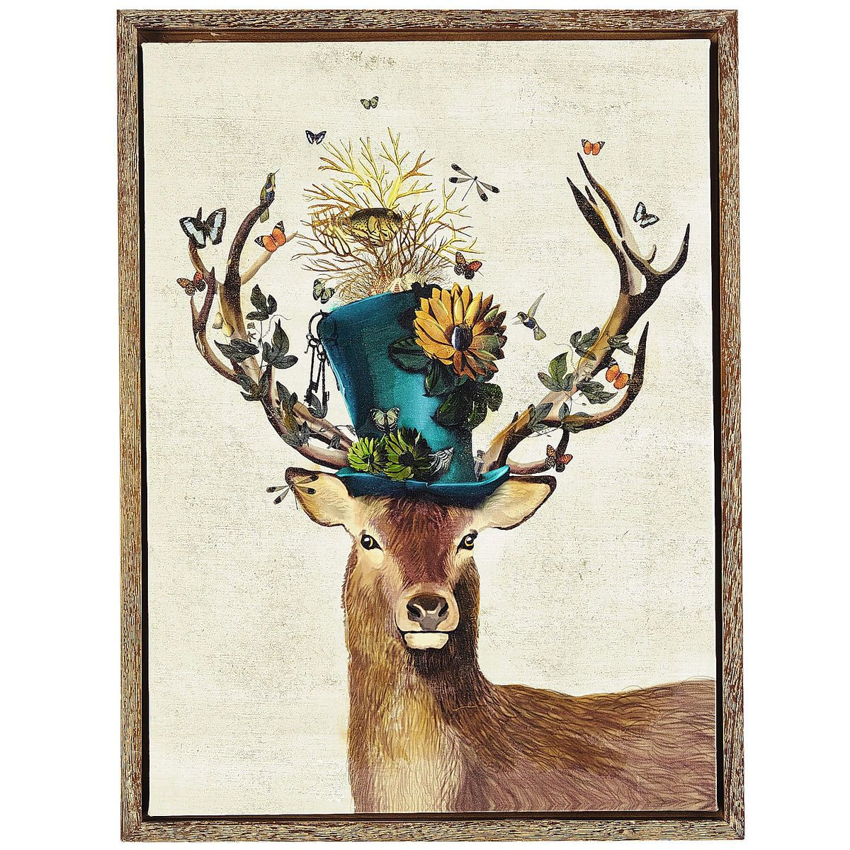dashing deer art pier 1 imports home stuff deer wall art art deer art. Black Bedroom Furniture Sets. Home Design Ideas
