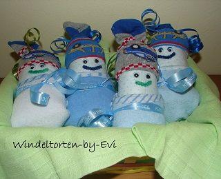 Windelbabies von Windeltorten by Evi