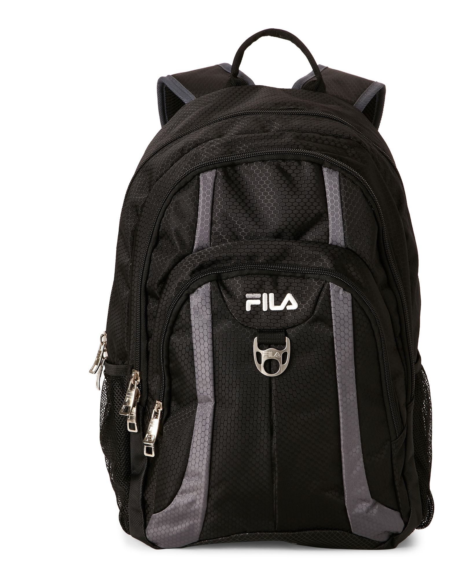 Black & Grey Edge Backpack
