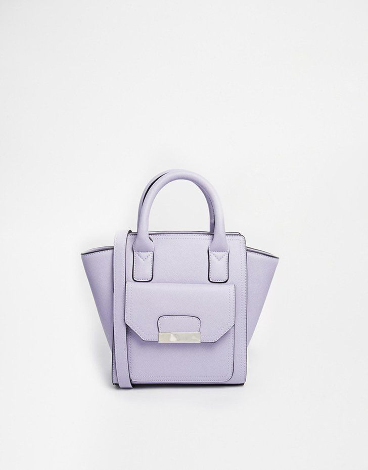Pin For Later The Ultimate Guide To Finding Your Perfect Spring Bag New Look Lilac Winged Mini Tote 16