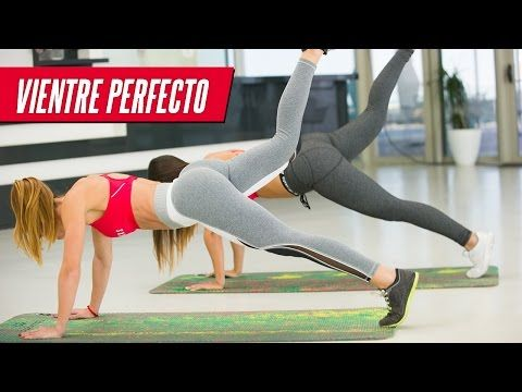 ABDOMINALES: 7 planchas vientre plano | Abs Workout Six Pack - YouTube #coreworkouts