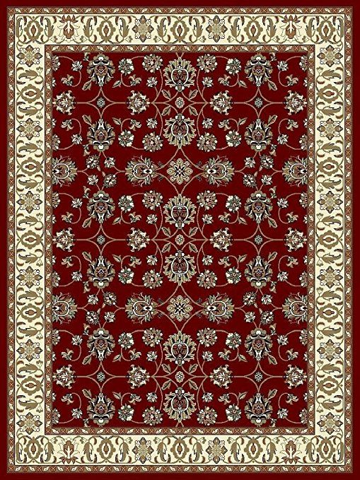 Large Rugs For Living Room 8x11 Red Traditional Clearance Area