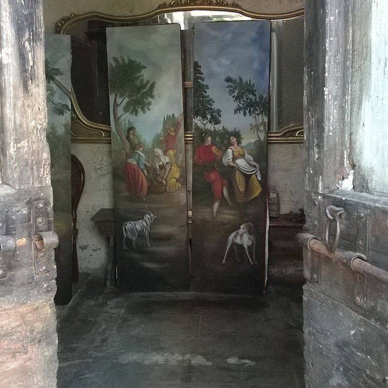 country scenes inspired Ignazio Moder villa Geggiano Siena - cristina gemellaro