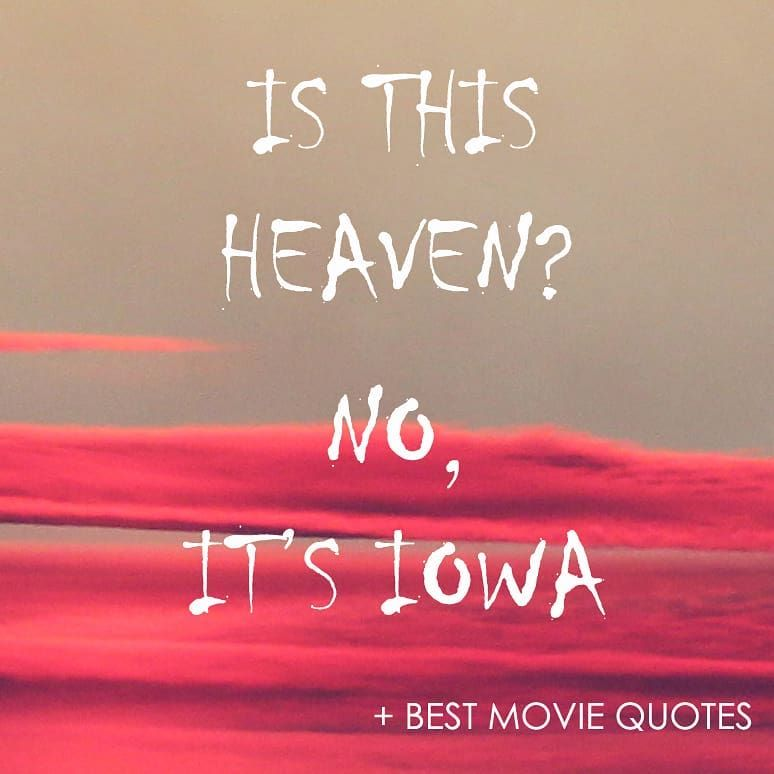One Of The Best Movies Made In My Opinion Field Of Dreams