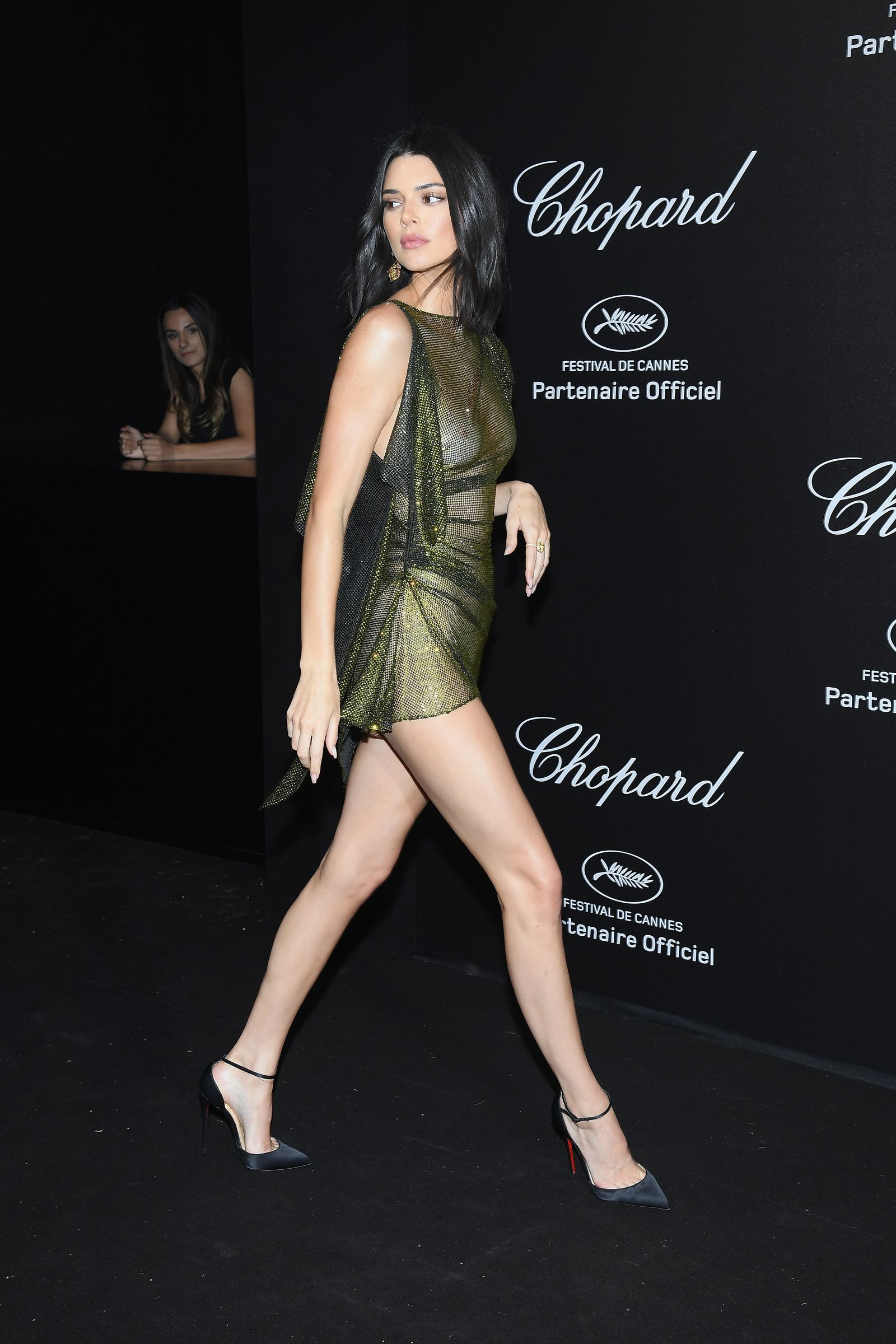 393ca766d30 Kendall Jenner Just Freed the Nips in a Completely See-Through Dress-  Cosmopolitan.com