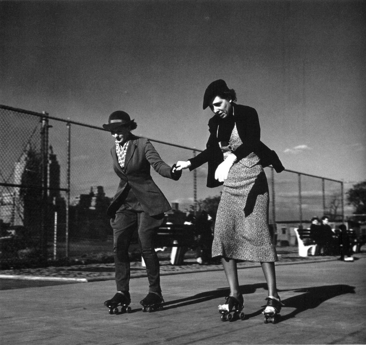 John Gutmann: The Lesson, Central Park, New York, 1936