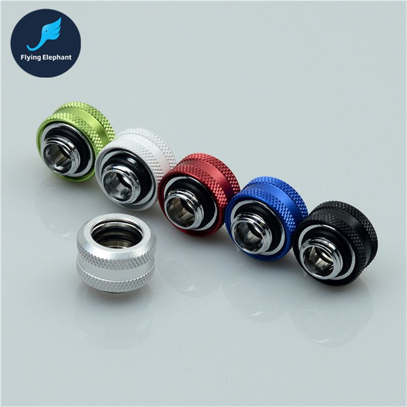 1 Piece Water Cooling Fitting Quick Twist For Od14mm Acrylic Hard