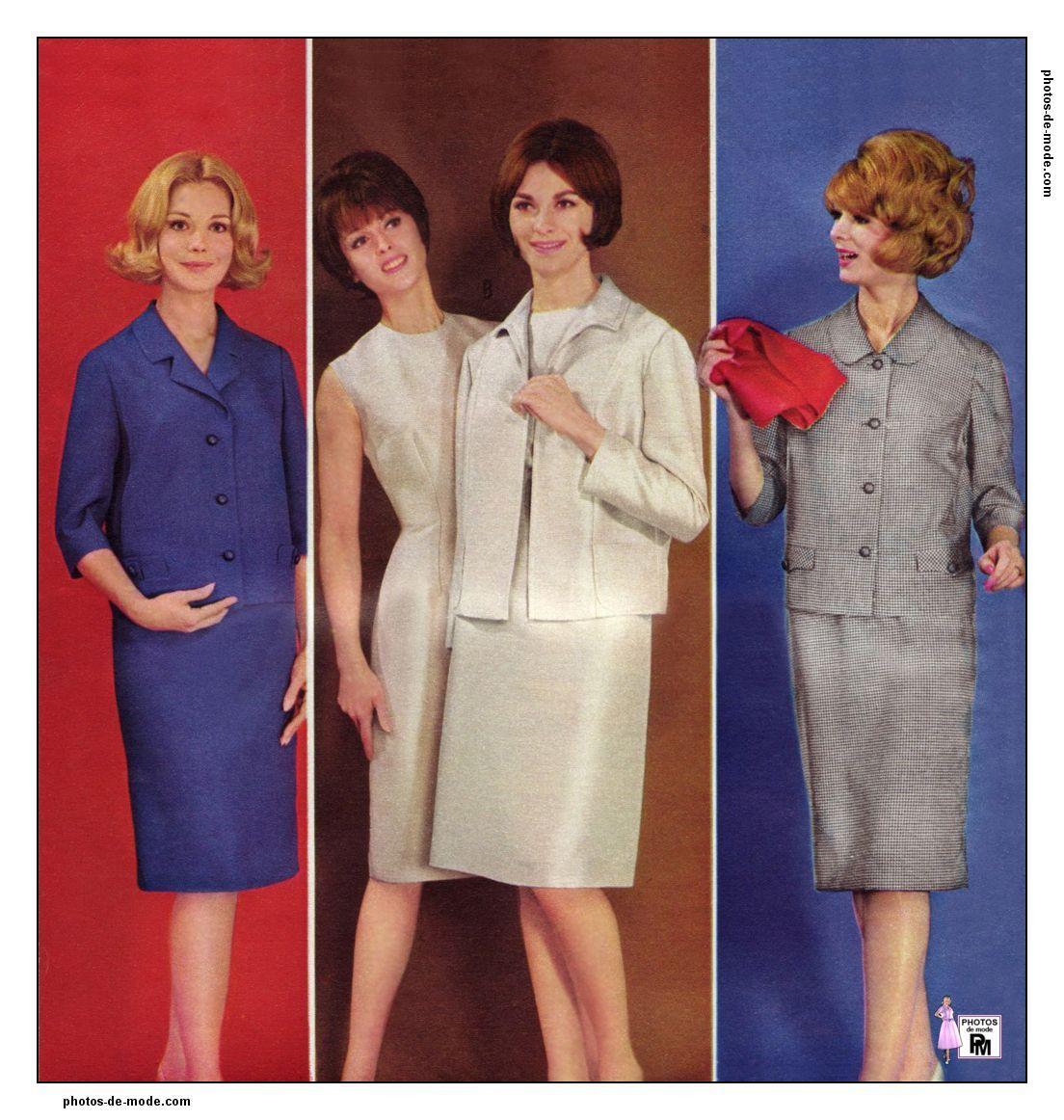 mode années 60 1964   Vintage dress 60 s   Pinterest   Mode année 60 ... fcb6ca088cc7