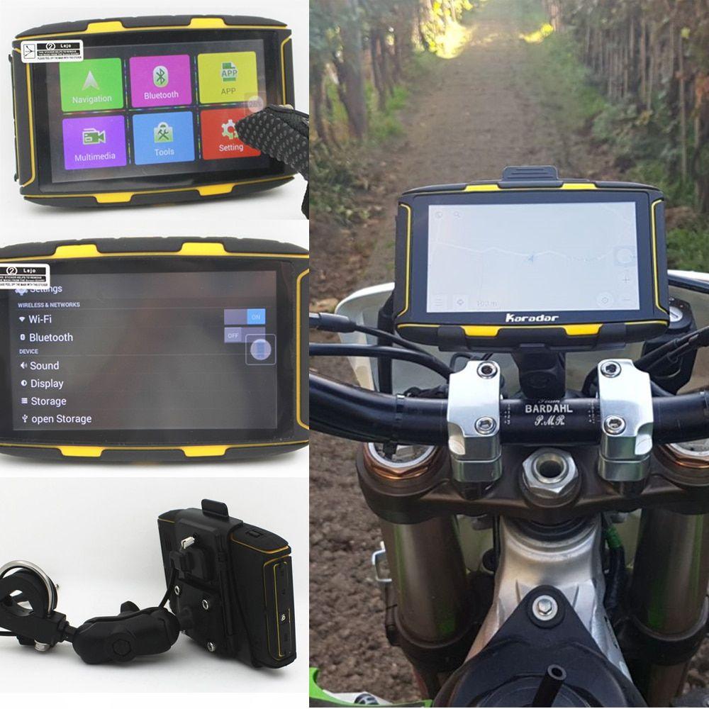 Karadar 5 inch Android Navigator Motorcycle Waterproof
