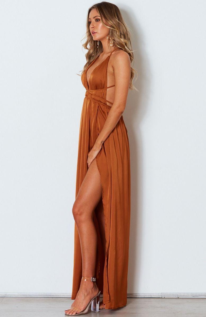 7f311d84d15 Akela Maxi Dress Rust from white fox boutique bridesmaid dress contender