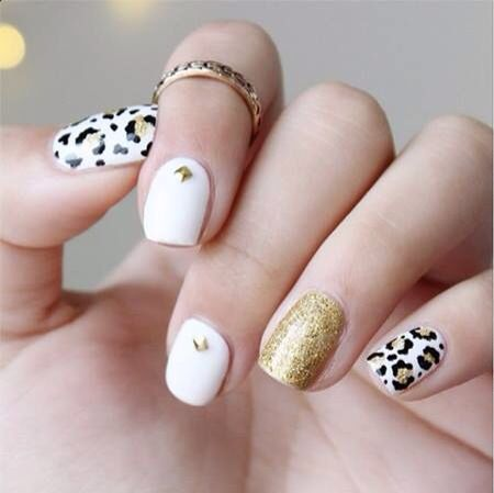 Nail Stud Designs Image Collections Easy Nail Designs For