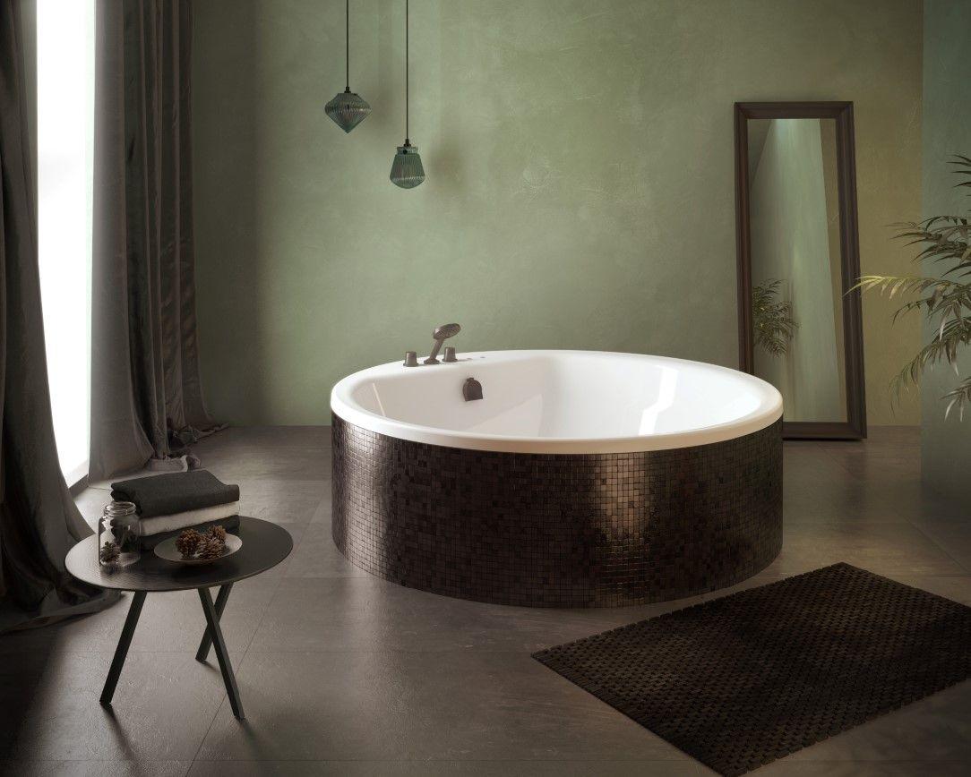 Vrijstaand rond bad met whirlpool- Cleopatra Premiumline | Baden ...